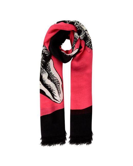 Gucci Multicolor Silk Cat Scarf