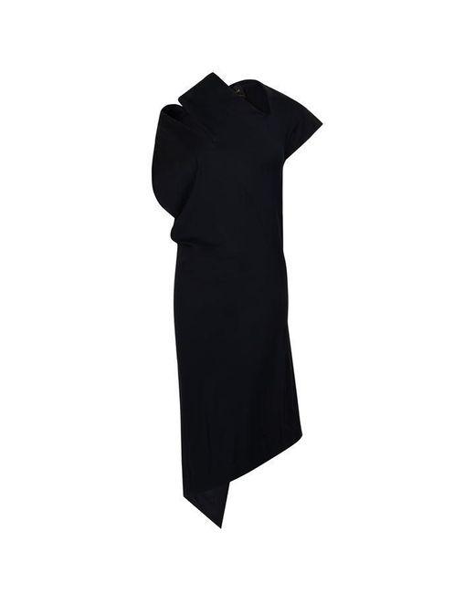 Vivienne Westwood Anglomania Blue Short Sleeve Timans Dress