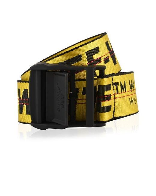 Off-White c/o Virgil Abloh Yellow Industrial Belt
