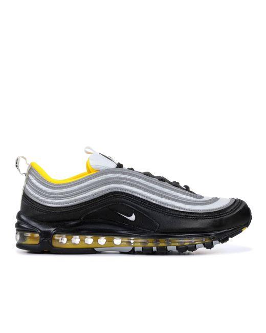 nike air max 97 mens black and yellow