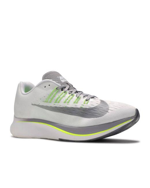 Nike White Zoom Fly Women's Running Shoe