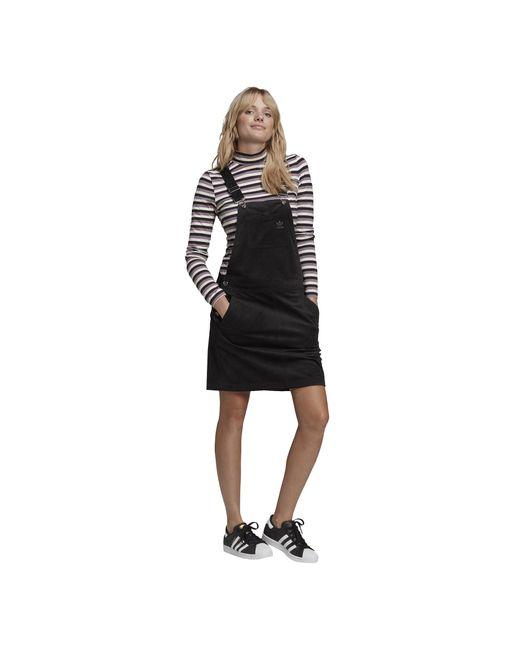 Adidas Originals Black Corduroy Dress