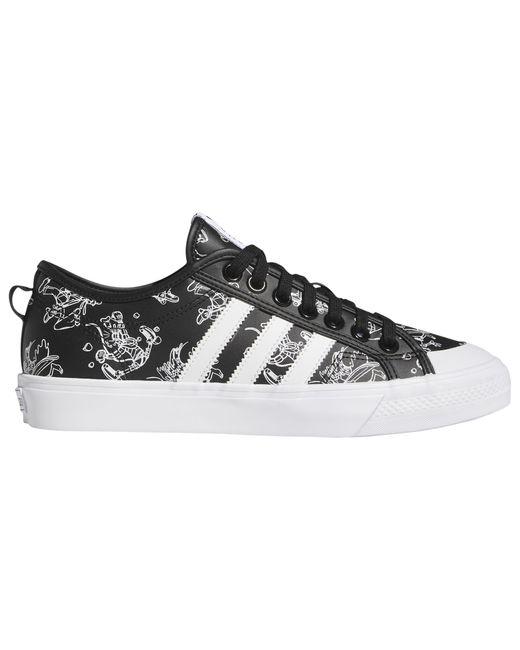 Adidas Originals Black Nizza - Shoes for men