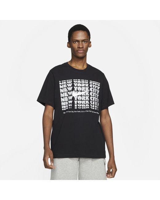 Nike Black City Repeat T-shirt for men