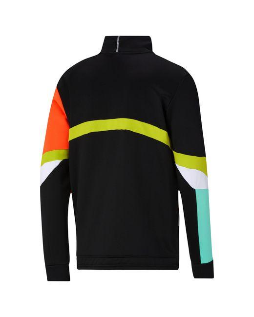 PUMA Multicolor Knit Jacket for men