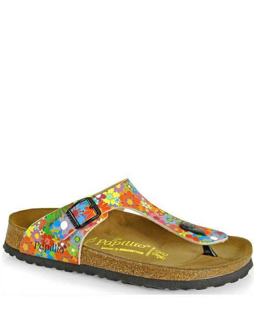 Birkenstock - Metallic Thong Sandal - Lyst