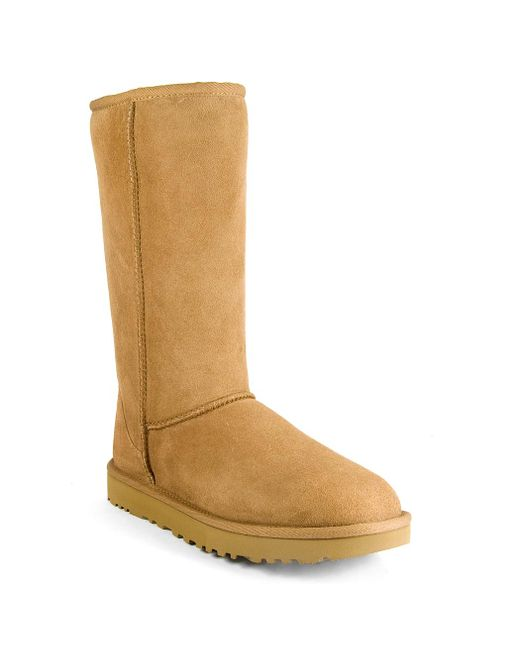 Ugg - Brown Suede/shearling Boot - Lyst