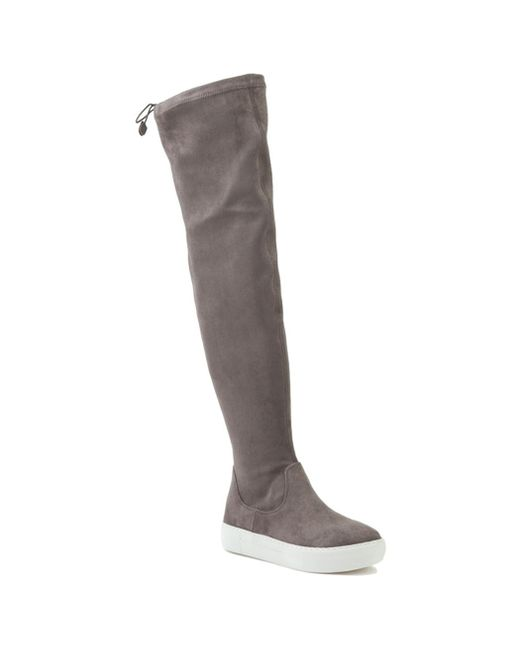 J/Slides | Gray Suede Sneaker Boot | Lyst