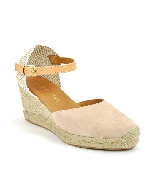 275 Central - Metallic Suede Espadrille Wedge - Lyst