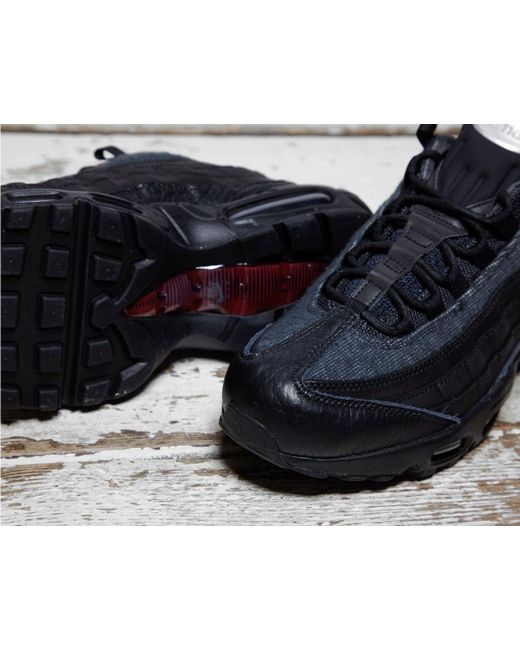 53c4f23c3e9448 ... Lyst Nike - Black Air Max 95  jacket Pack  for Men ...