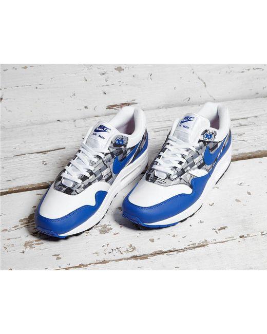 9d8a3a78f8 ... Lyst Nike - White X Atmos Air Max 1 'print' for Men ...