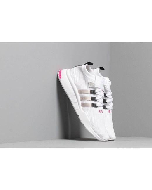 the best attitude fd877 68cd8 Men's Adidas Eqt Support Mid Adv Pk Ftw White/ Gray Two/ Core Black