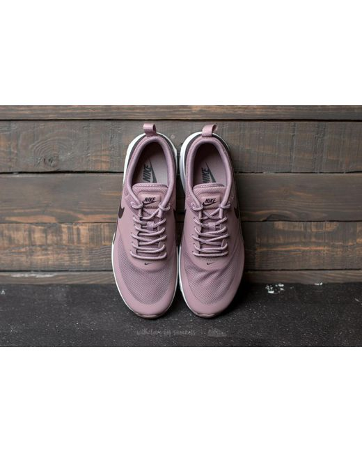 ... Nike - Gray Wmns Air Max Thea Taupe Grey/ Port Wine-white - Lyst ...