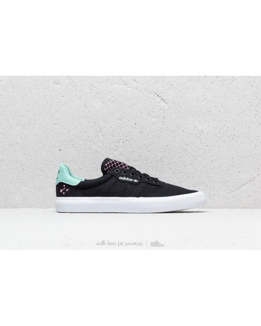 super popular 4c0cd 6fa72 ... Adidas Originals - Adidas 3mc Core Black Clemin Ftw White for Men -  Lyst ...