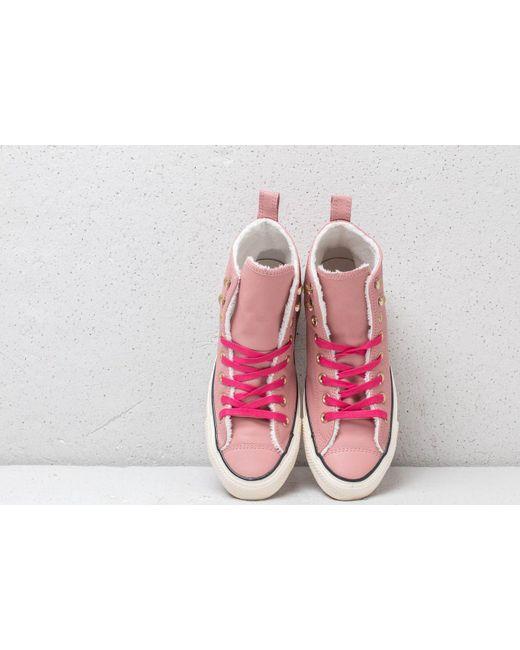15046340676 ... Converse - Chuck Taylor All Stars Hiker Boot High Rust Pink  Pink Pop -  Lyst ...