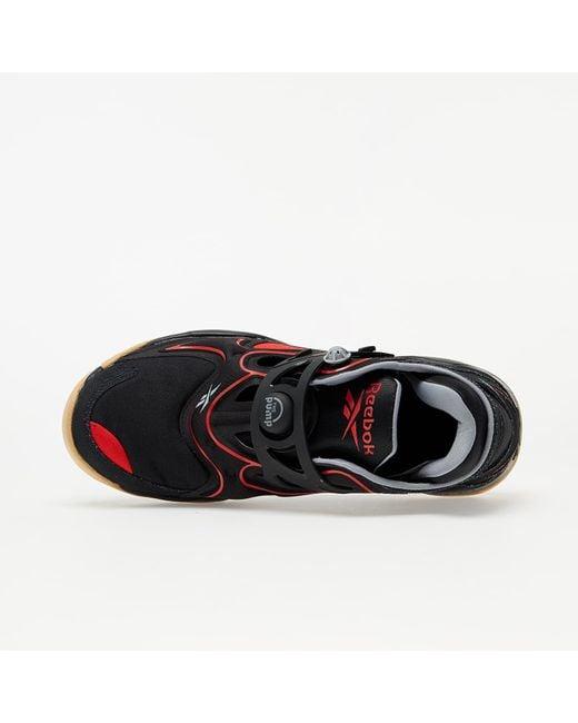 Pump Court Black/ Insane Red/ Rbkg02 Reebok
