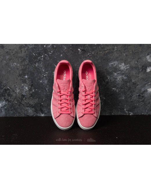 sale retailer ccf1a 3ad49 ... Adidas Originals - Adidas Campus Stitch And Turn W Chalk Pink Chalk  Pink Gold ...