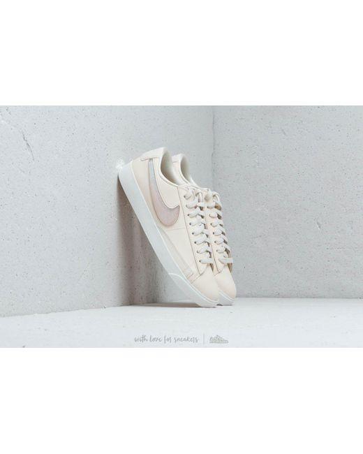 Lyst - Nike W Blazer Low Lx Pale Ivory  Guava Ice-summit White in White 30ed06dff