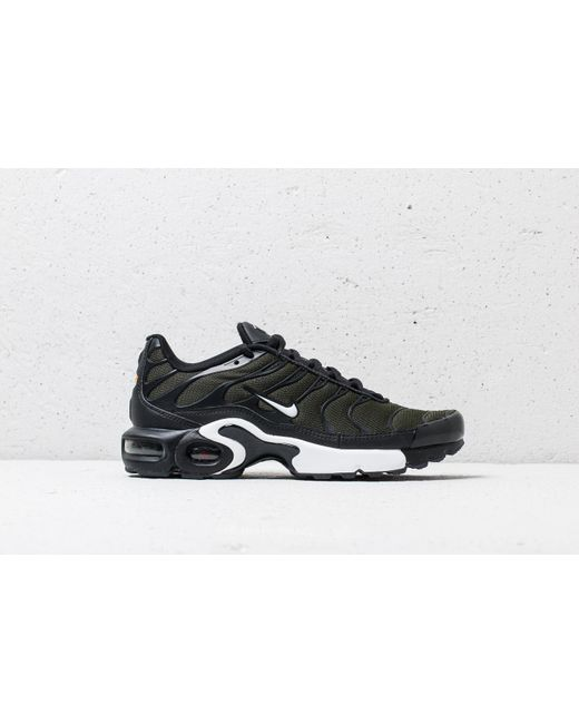Nike Air Max Plus (GS) Sequoia/ White-Black ijeQv