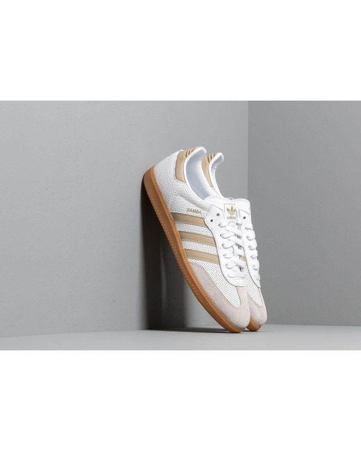 Adidas Samba OG Core Black Hires Orange Mens Low Top Sneakers