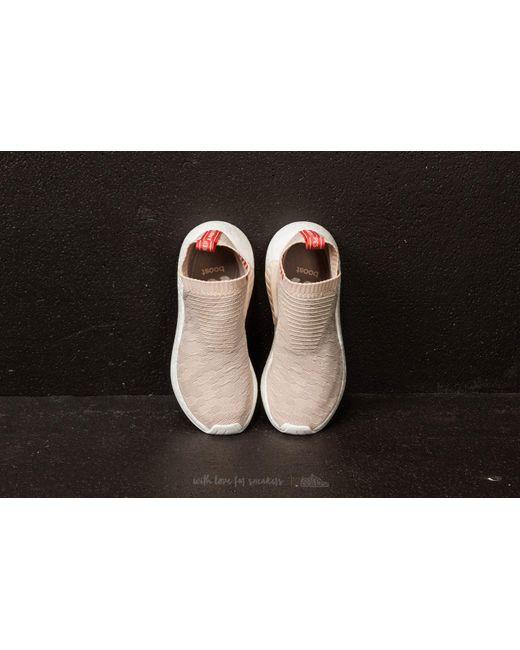 ... Adidas Originals - Gray Adidas Nmd cs2 Primeknit W Linen  Vapor Grey  Ftw  White ... 768fd9954