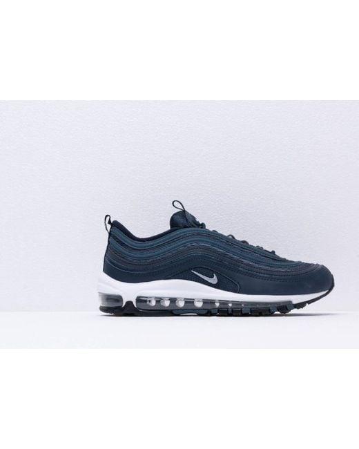 dff16f5d66 ... Nike - Air Max 97 Essential Obsidian/ Obsidian Mist-monsoon Blue for  Men ...