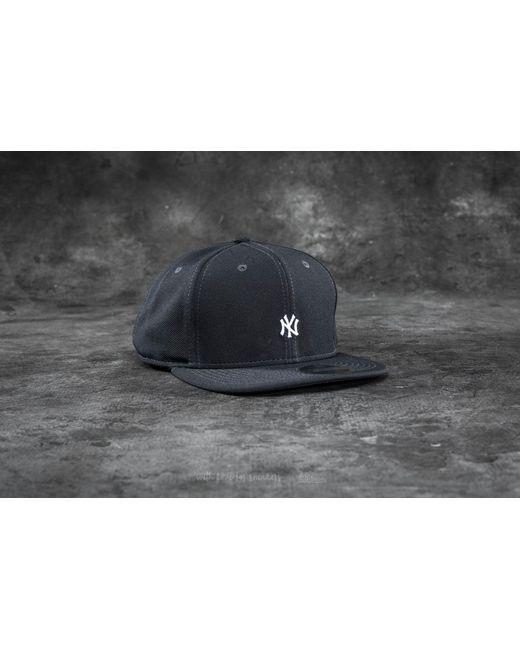 KTZ | Gray 9fifty Border Edge Pique New York Yankees Cap Dark Grey/ White for Men | Lyst