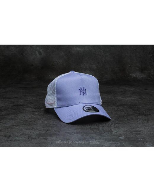 KTZ   Multicolor Adjustable Women Pastel New York Yankees Trucker Purple   Lyst