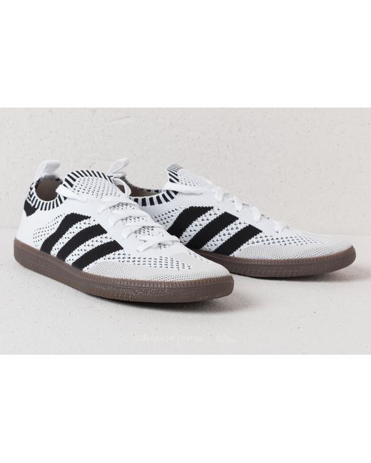 20a7e350cea1 ... france adidas originals adidas samba primeknit sock ftw white core  black blue bird for 03fc4 77bab