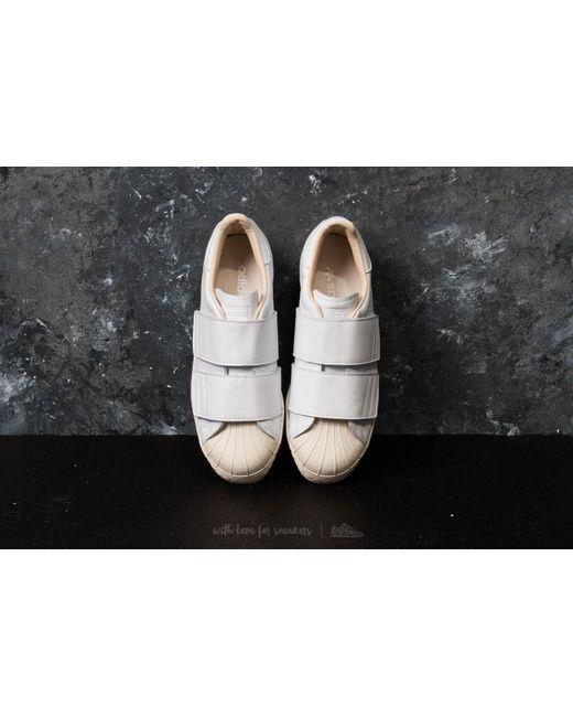 7592aa27f2c ... Adidas Originals - Adidas Superstar 80s Cf W Ftw White  Ftw White   Linen ...