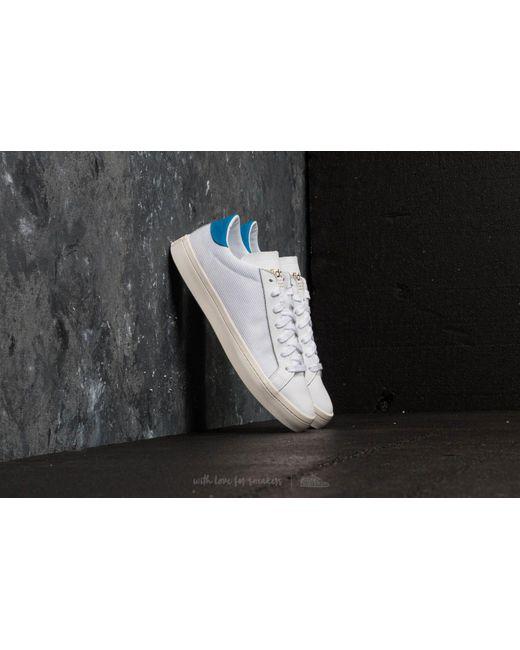 Adidas Originals - Adidas Courtvantage Ftw White/ Ftw White/ Bright Blue for Men - Lyst