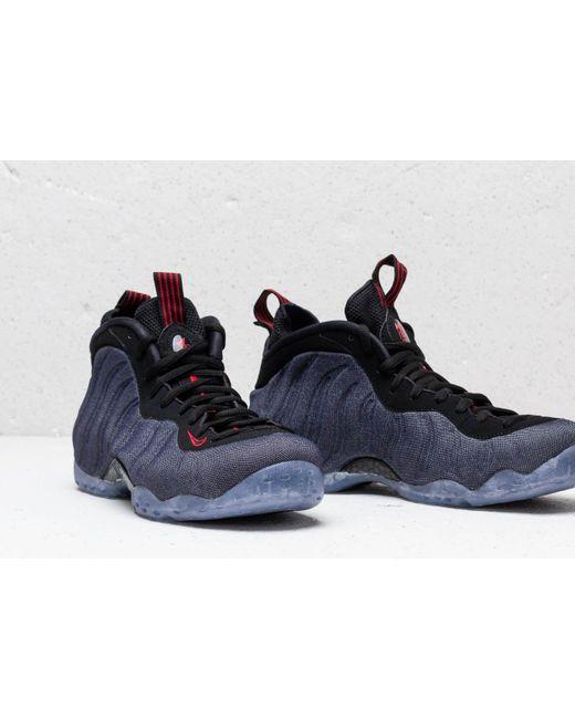 4d64bcc43e2 ... Nike - Air Foamposite One Obsidian/ Black-university Red for Men - Lyst