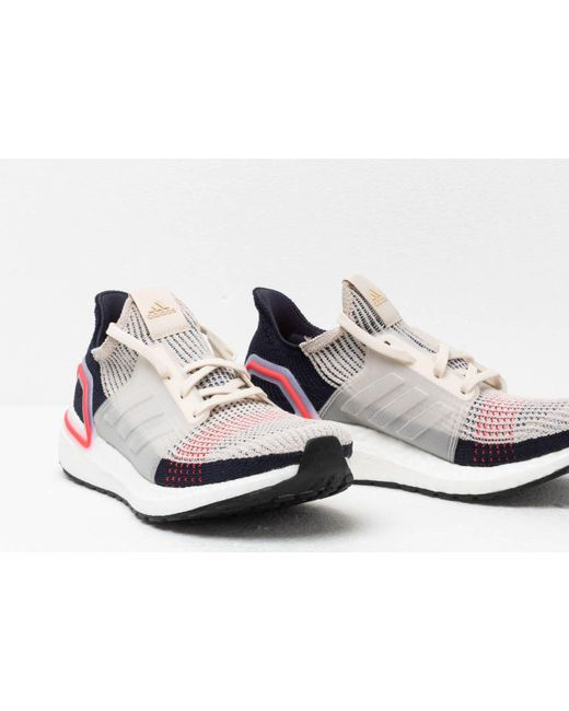 af1d844a3b9 ... Adidas - White Ultraboost 19 Shoes for Men - Lyst