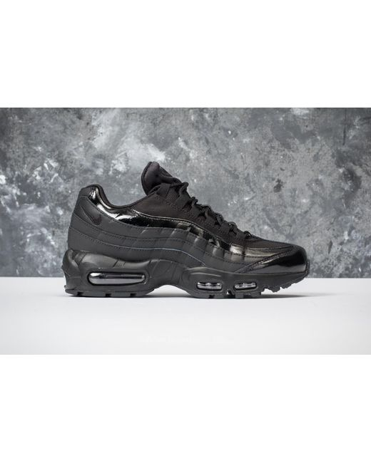 ... Nike | Wmns Air Max 95 Black/ Black-black | Lyst ...