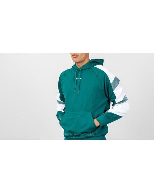 d9e79ff80ea6 ... Adidas Originals - Equipment Block Hoody Hoodie Noble Green for Men -  Lyst
