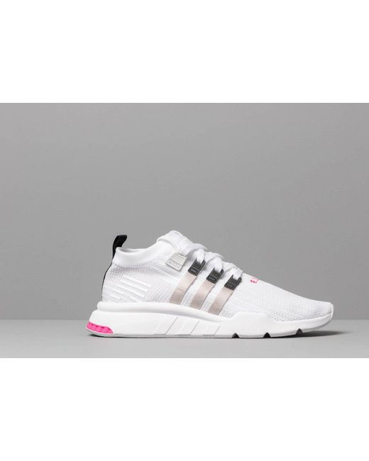 the best attitude b0072 5cf89 Men's Adidas Eqt Support Mid Adv Pk Ftw White/ Gray Two/ Core Black