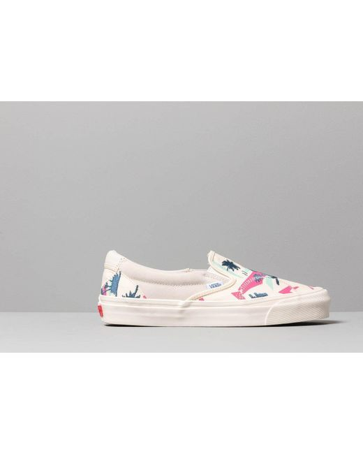 Vans Classic Slip On Bricolage LX (Embroidered Palm) Classic