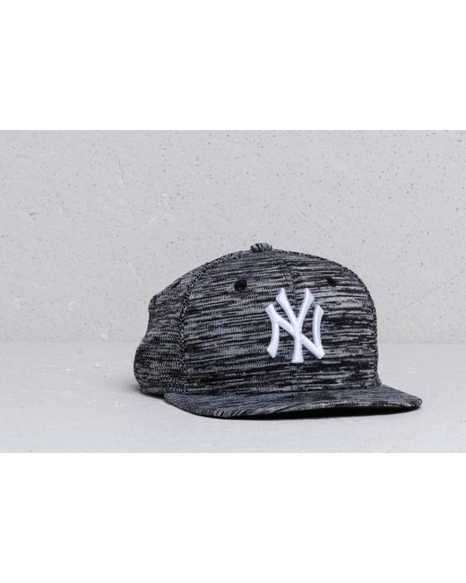 a3532939 KTZ - 9fifty Mlb Original Fit Engine New York Yankees Cap Black/ White -  Lyst ...