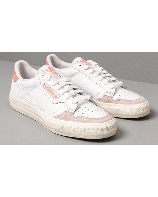 adidas Originals Adidas Continental Vulc Ftw White/ Ftw ...