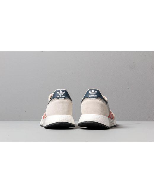 ADIDAS MARATHON TECH White Active Orange Navy Schuhe Sneaker
