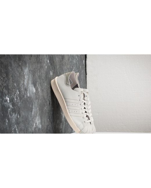 designer fashion b9ef3 3474c Women's Adidas Superstar 80s Decon W Gray One/ Gray One/ Off White