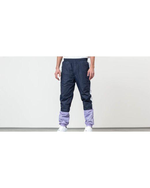 Al Woven Track Pants Violet Tulip/ Black Iris/ Bright White di Fila da Uomo