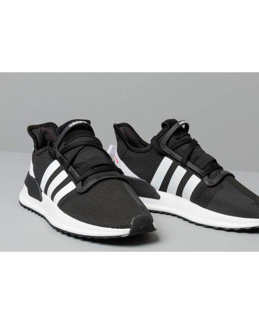 adidas Originals Shoes U Path Run Core BlackFtw White