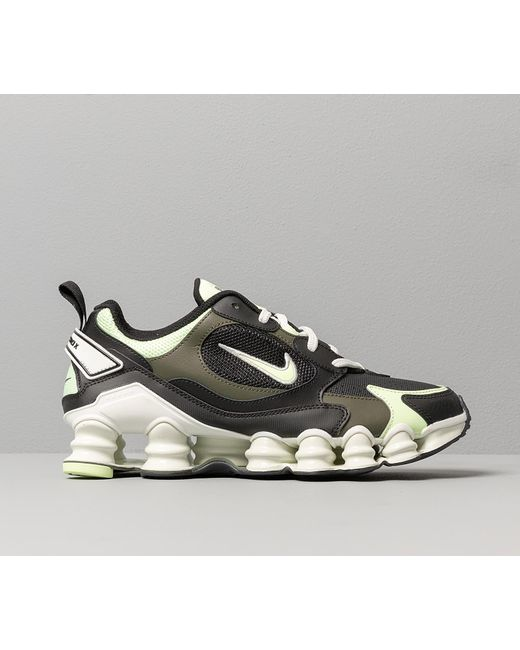 W Shox TL Nova Black/ Barely Volt-Cargo Khaki Nike