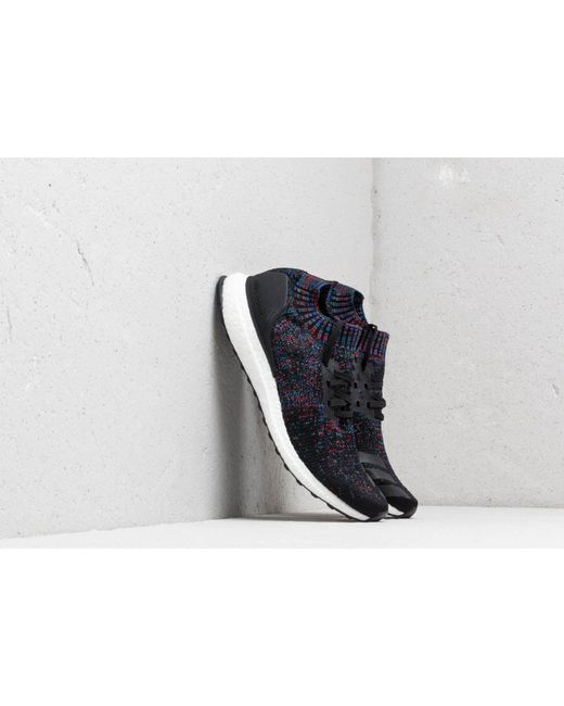 separation shoes 888ef 2091f Men's Adidas Ultraboost Uncaged Core Black/ Active Red/ Blue