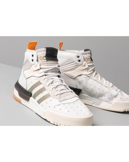 sports shoes d2944 2c682 ... Adidas Originals - Adidas Rivalry Rm Crystal White  Ftw White  Cream  White for Men