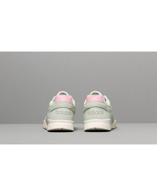 Men's Gray Adidas A.r. Sneaker Linen Green True Pink Off White