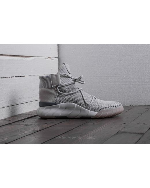 Adidas Tubular x PK Men Round Toe Canvas White Eckington School