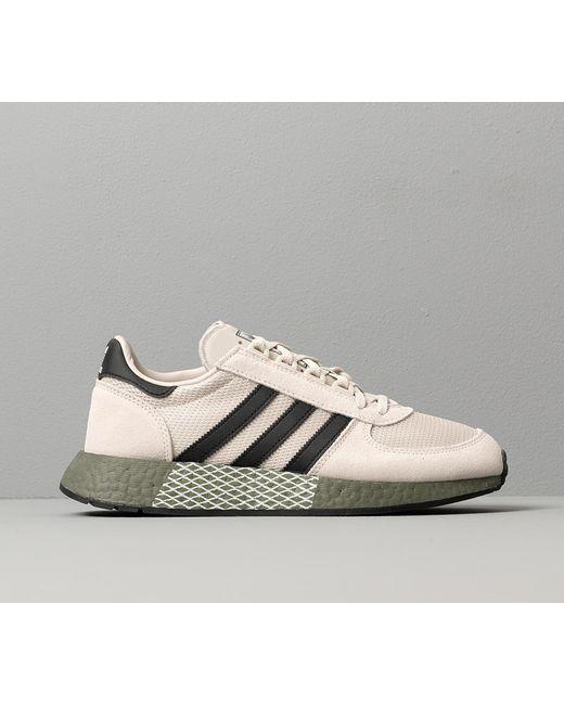 adidas Marathon Tech Men's Sneakers Raw White Color Casual