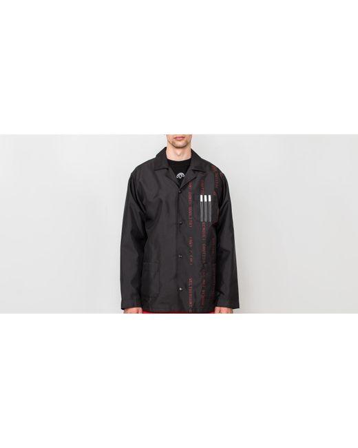 5095a9b1c9b8 Alexander Wang - Adidas X Alexander Wang Coach Jacket Black  White  Core  Red for ...